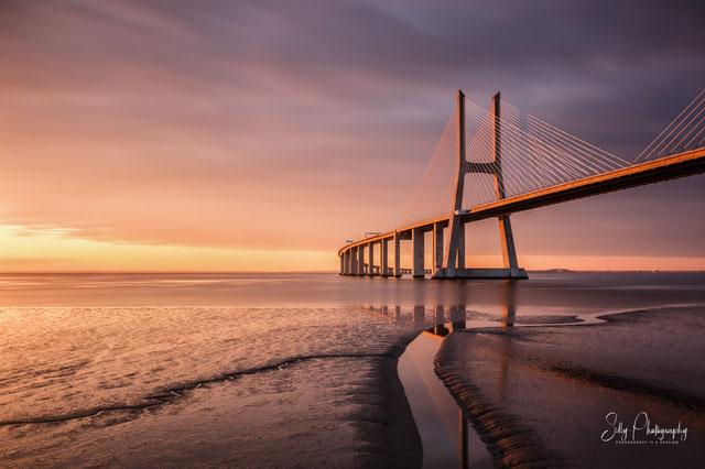 Portugal / Lissabon / Ponte Vasco da Gama, Langzeitbelichtung, 2016, © Silly Photography