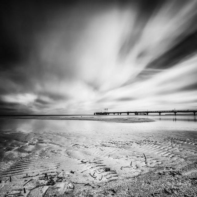 Ostsee / Scharbeutz, Seebrücke, Langzeitbelichtung, 2015, © Silly Photography
