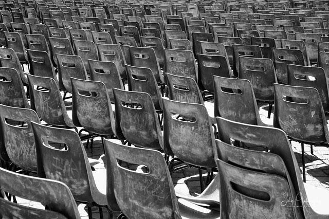 Rom, Vatikan, Stühle, ©Silly Photography