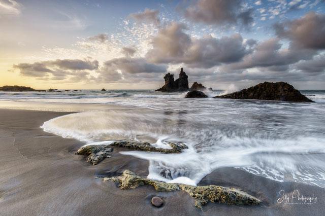 Teneriffa / Benijo Beach,Spanien, Langzeitbelichtung, 2016, © Silly Photography