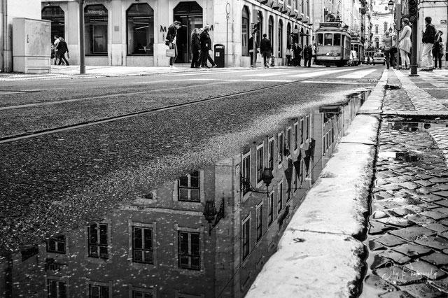 Portugal / Lissabon, Lisboa, Street, Tram, Spiegelung, 2016, © Silly Photography