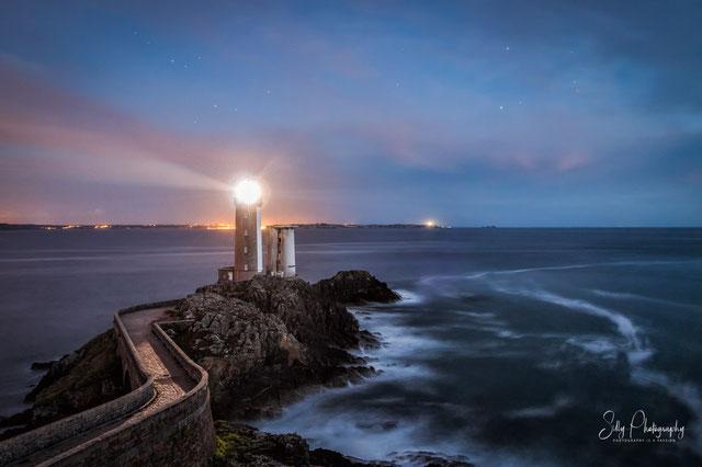 Frankreich / Bretagne / Leuchtturm Petit Minou, Langzeitbelichtung, 2016, © Silly Photography