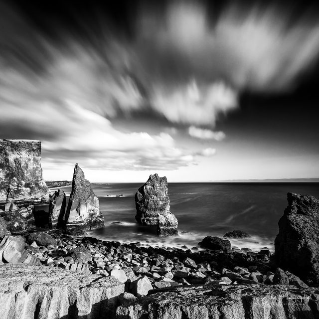 Island, Reykjanesta, Steilküste, Langzeitbelichtung, 2015, © Silly Photography