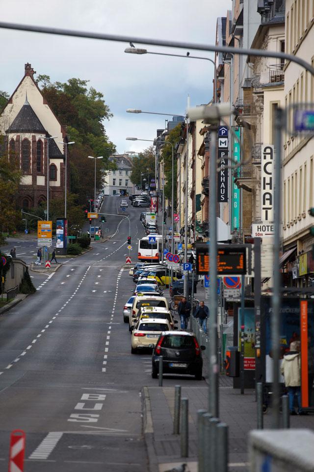 Wiesbaden Schwalbacher Straße Blitzlichtkabinett