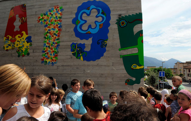 On. Manuele Bertoli inaugura l'Elemento 150.