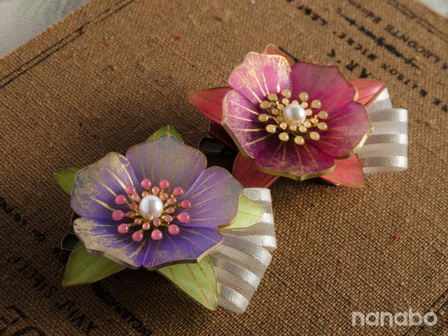 第43回 2019日本ホビーショーでの、ナナアクヤの立体花プラバンワークショップ作品イメージ