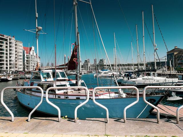 Hafen von Ostende