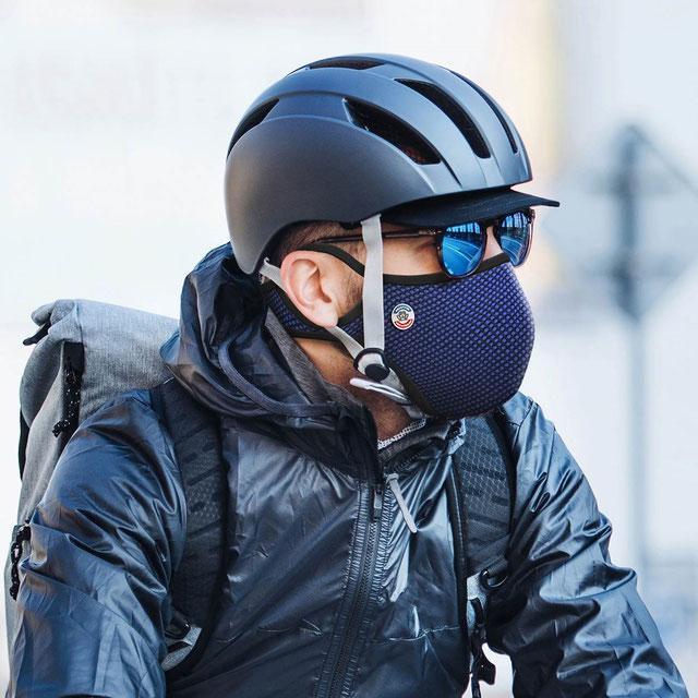 masque antipollution pour cyclistes