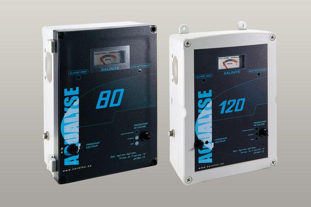 AQUALYSE: Des électrolyseurs très simples, extrêmement robustes avec un excellent rapport qualité / prix.