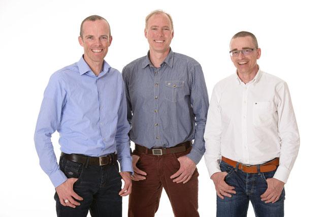 Dr. Guido Schmitz-Elvenich | Dr. Dirk Hering  |  Priv. Doz. Dr. Wolfgang M. Franck (v. l. n. r.)