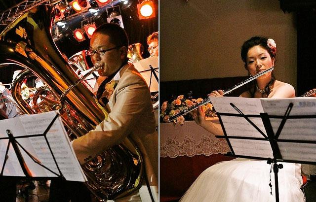 吹奏楽結婚式二次会