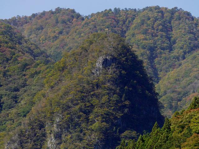 稲村岩はまだ緑