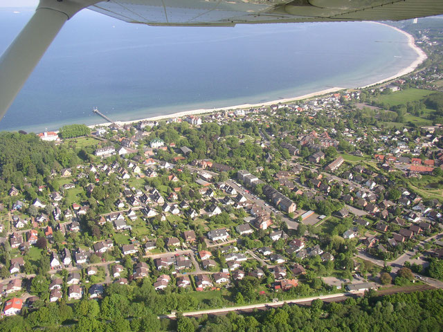 Luftbild von Haffkrug
