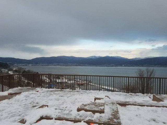 諏訪湖画像