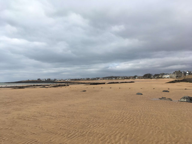 Elie has a beautiful sandy beach
