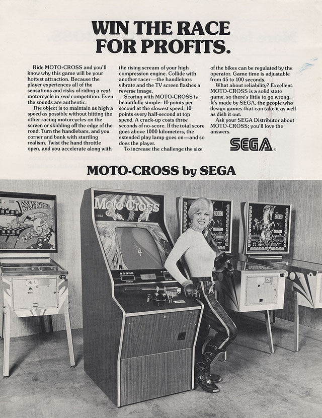 Moto-Cross arcade