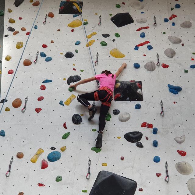 klettertraining für 10 bis 14 jährige  wwwgeoventureat