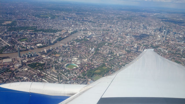 ロンドン・シティ(金融街上空)