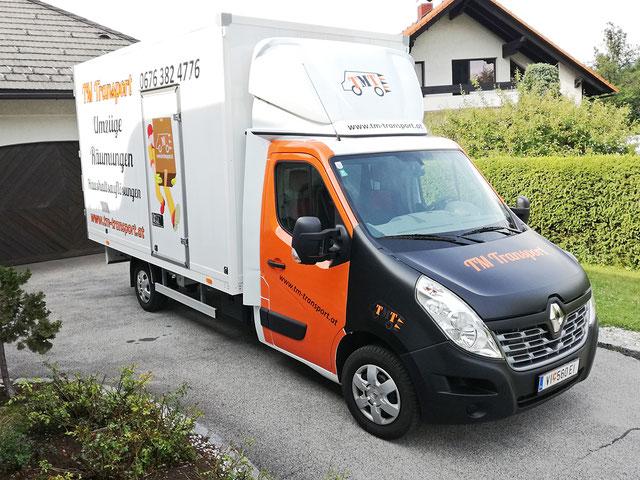 Umzugswagen, Möbeltransporter