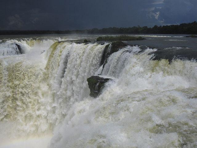 Berauschend: die Wasserfälle von Iguazú