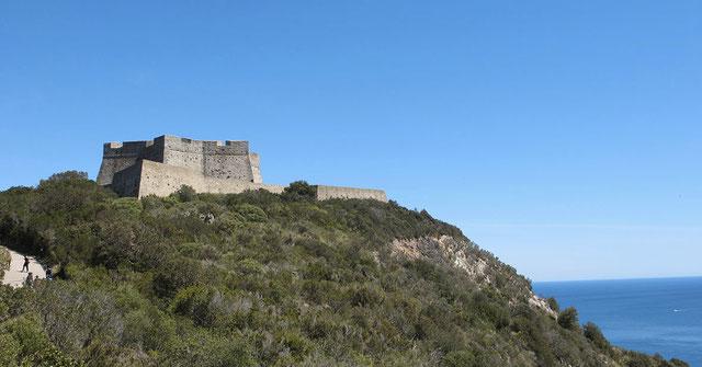 Forte Stella a Porto Ercole, Monte Argentario