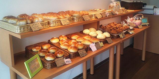 添加物を一切使用しないパン