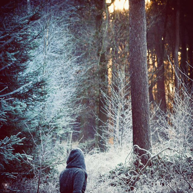 Winterwonderland Serie | www.visovvio.de | Winterweltenwanderer, Eiswelt,  never stop exploring