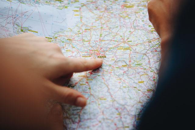 Carte Paris choix visite