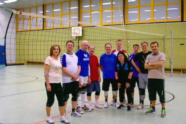 Volleyball-Freizeitsport
