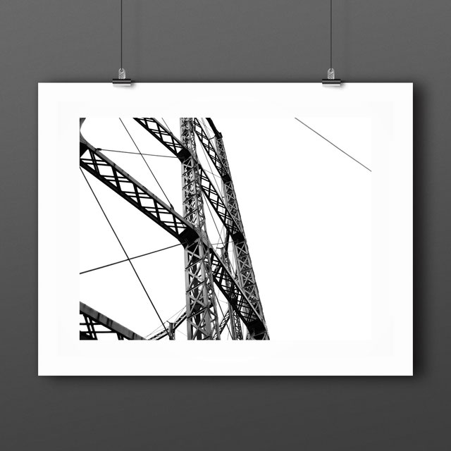Art Print, London 'Gas Holder' by PASiNGA