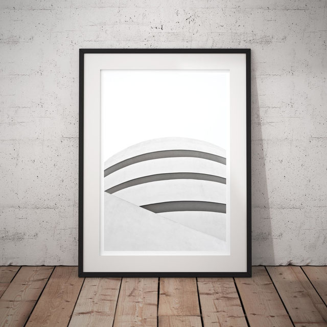 Minimal photographic Art Print 'White' by PASiNGA