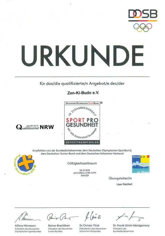 Zen-Ki-Budo - gesunder Sport - Sport Pro Gesundheit - Jiu Jitsu - Selbstverteidigung - Kampfkunst - Herne - Bochum - Gelsenkirchen