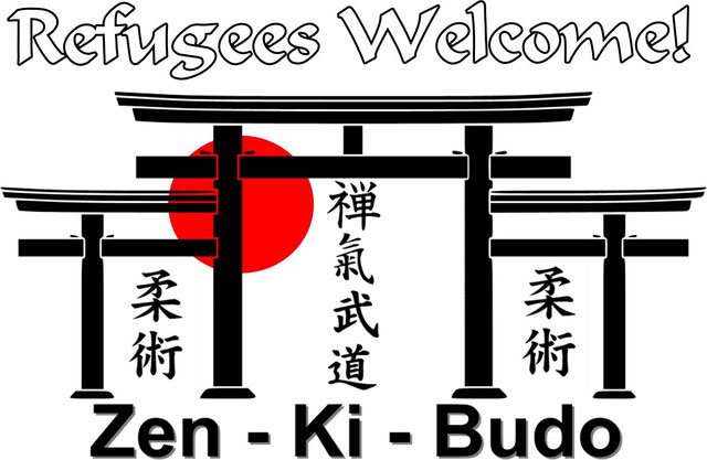 Refugees Welcome - Flüchtlingshilfe Bochum, Herne, Gelsenkirchen - Jiu Jitsu - Kampfsport - Selbstverteidigung
