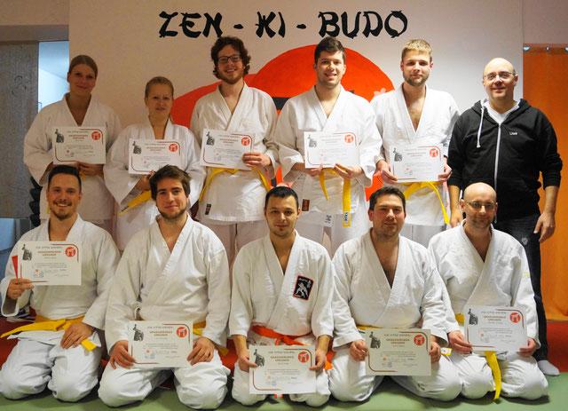 Zen-Ki-Budo - Jiu Jitsu Prüfung - Selbstverteidigung - Kampfsport