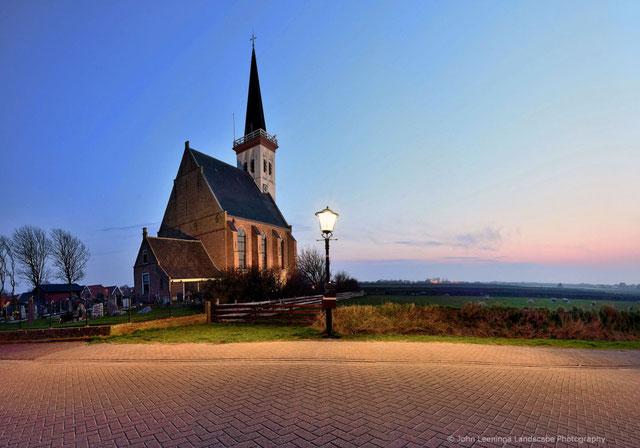 265. Texel kerkje De Hoorn