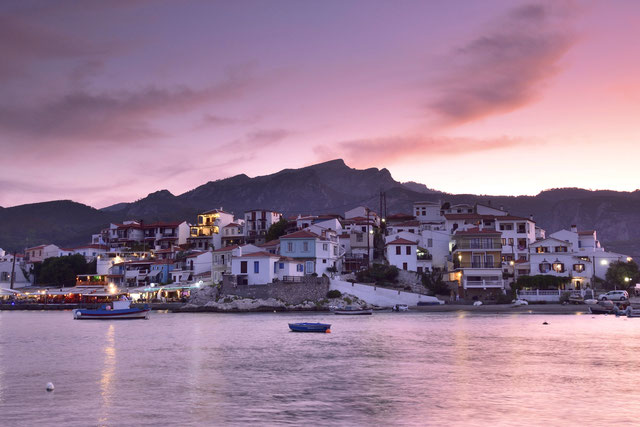 642.  Griekenland Samos Kokkari