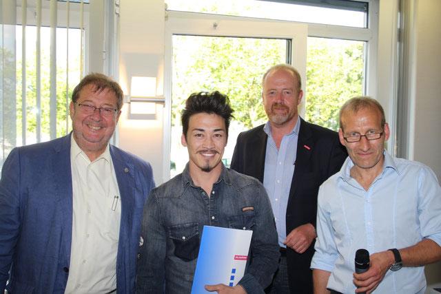 Lossprechungsfeier der Stuckateur-Innung Köln Ausbau + Fassade am 04. Juli 2016 im gr. Sitzungssaal der Kreishandwerkerschaft Köln