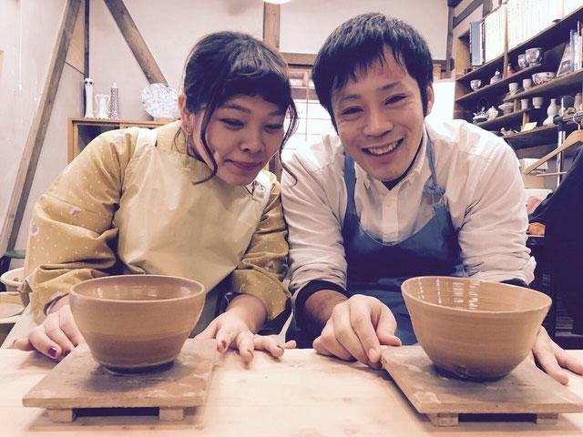 GWゴールデンウィークには下呂温泉合掌村で着物体験・陶芸体験