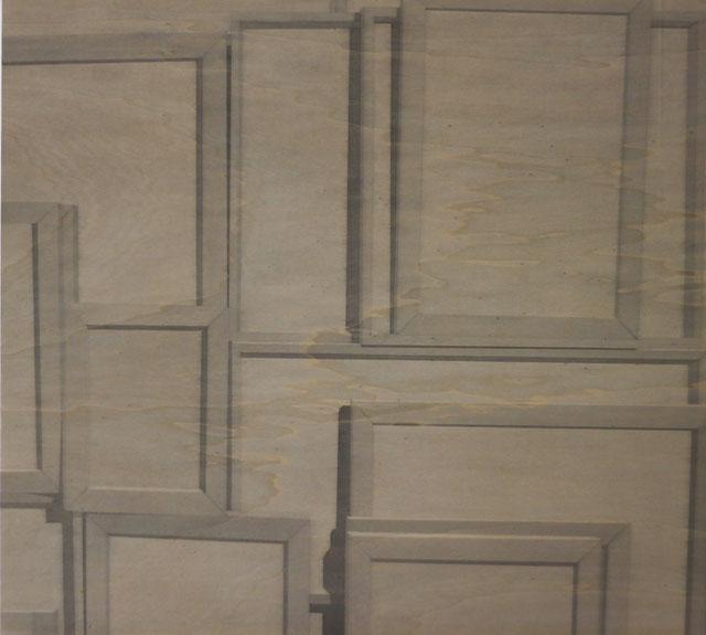 Acryl auf Holz, 80 cm x 88 cm, 2012.