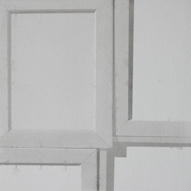 Acryl auf Holz, 38 cm x 38 cm. 2012.