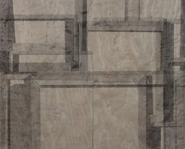 Acryl auf Holz, 60 cm x 75 cm (Dyptichon). 2012