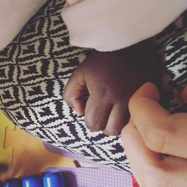 Photographie prise par Solène, à la pouponniere au Sénégal en 2017