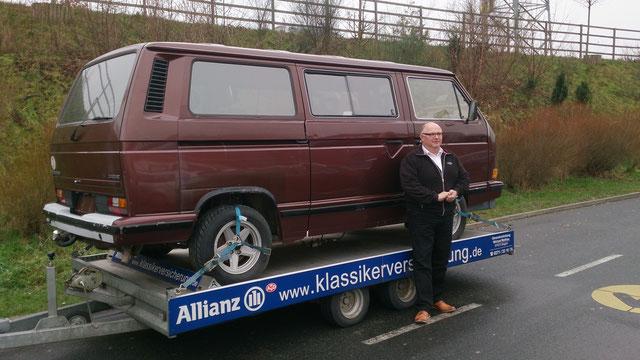Unterwegs mit der ältesten VW T3 Caravelle Carat....mehr Infos beim Klick auf das Bild
