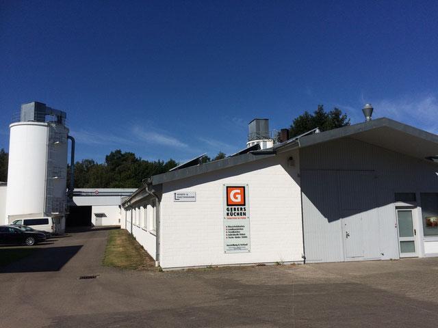 © Gebers AG, Neuenkirchen | Unsere Werkstatt in der Siemensstraße.