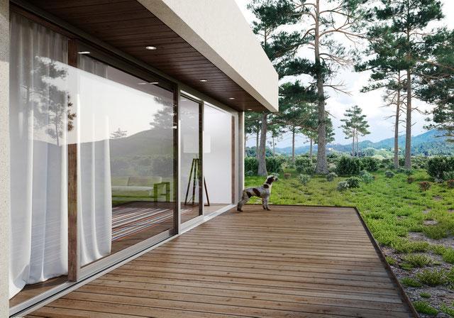 Fenster tragen zur Wohn- und Lebensqualität bei.