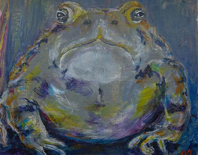 Erdkröten Aquarell: (c) Barbara Ocker
