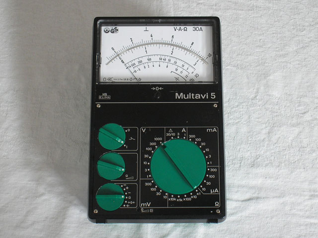Multimeter Multavi 5 von Hartmann & Braun Elima - ca. 1980