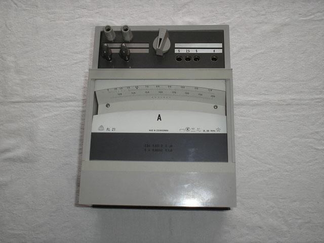 Lichtmarken Galvanometer Gleichstrom Metra Blansko Czechslowakia von 1988