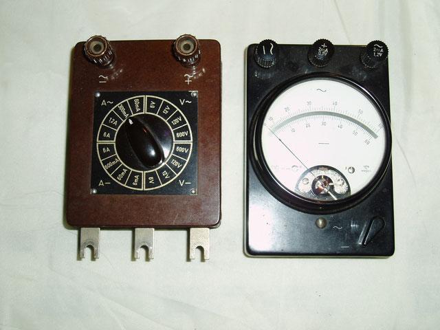 Gossen  Universal Mavometer Typ. WG mit Messbereichsumschalter