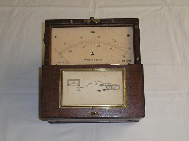 Anzeigegerät vom Zangenamperemeter Typ. IDM 1000  von 1929